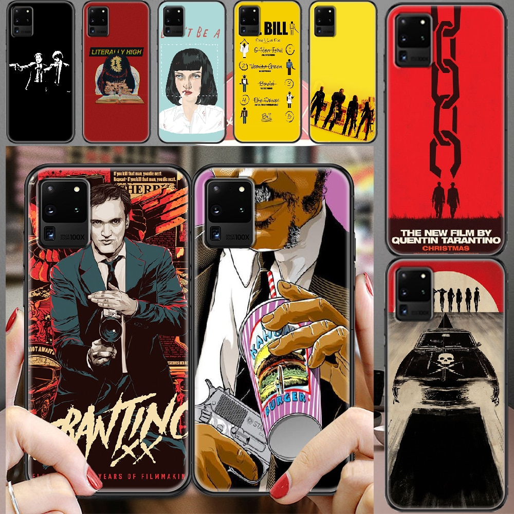 written-directed-quentin-tarantino-phone-case-for-samsung-galaxy-note-4-8-9-10-20-s8-s9-s10-s10e-s20-plus-uitra-ultra-black