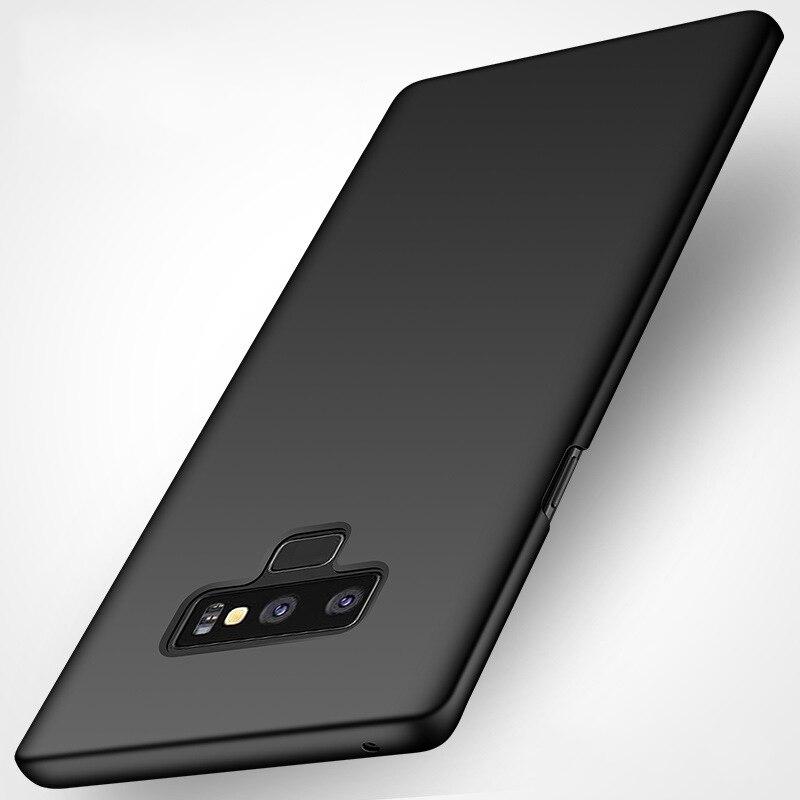 Funda mate para Samsung S20 S20 Plus S10 S9 S8 Plus funda trasera delgada para Galaxy S20 Ultra Note 10 pro 9 8 S10 5G S7 Edge funda fina