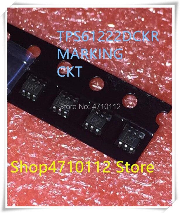 NEW 10PCS/LOT TPS61222DCKR TPS61222 MARKING CKT SC70-6 IC