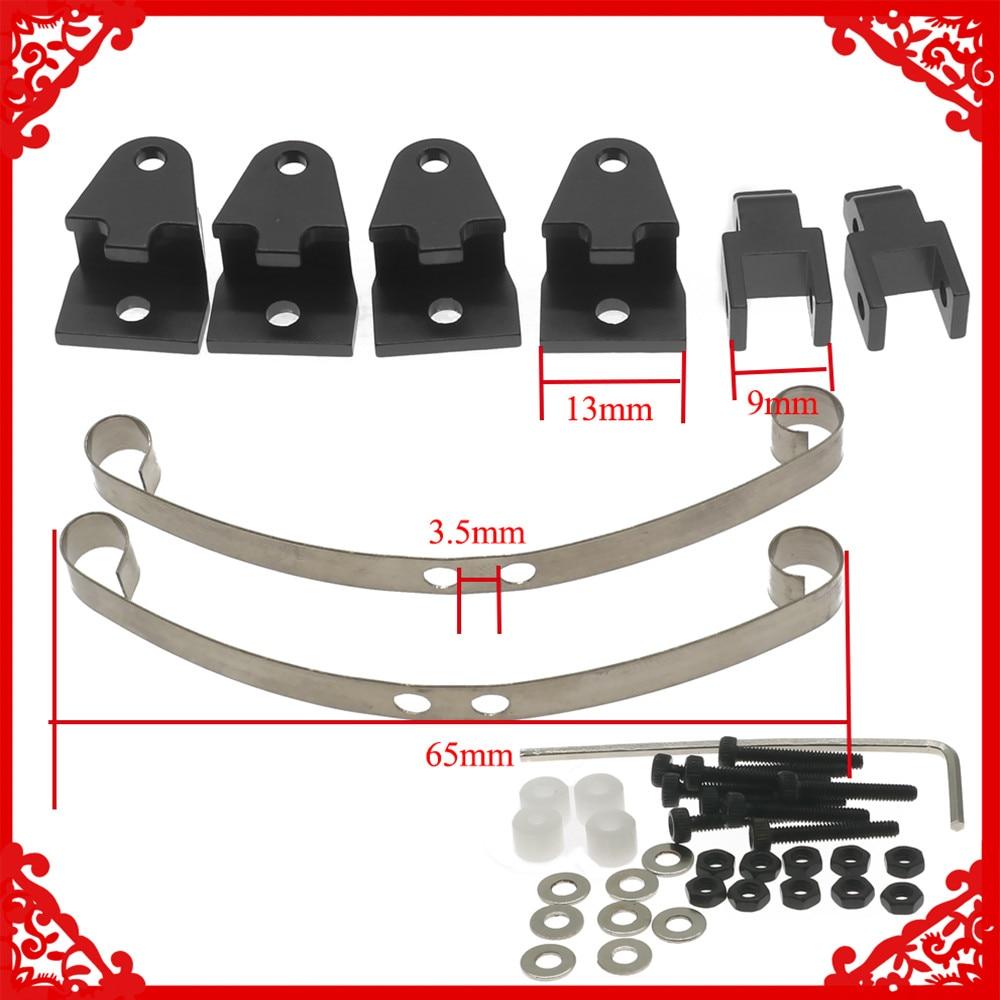 Alloy steel leaf spring suspension set for WPL Henglong B14 B16 B24 B36 Ural Q60 Q61 Q62 Q63 Q64 4x4 6x6 Military truck&crawer