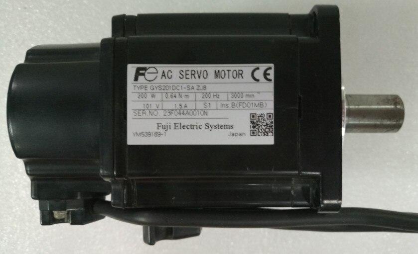 GYS201DC1-SA ZJ8 محرك سيرفو ، وتستخدم واحدة ، 90% مظهر جديد ، اختبار السلع ، شحن مجاني