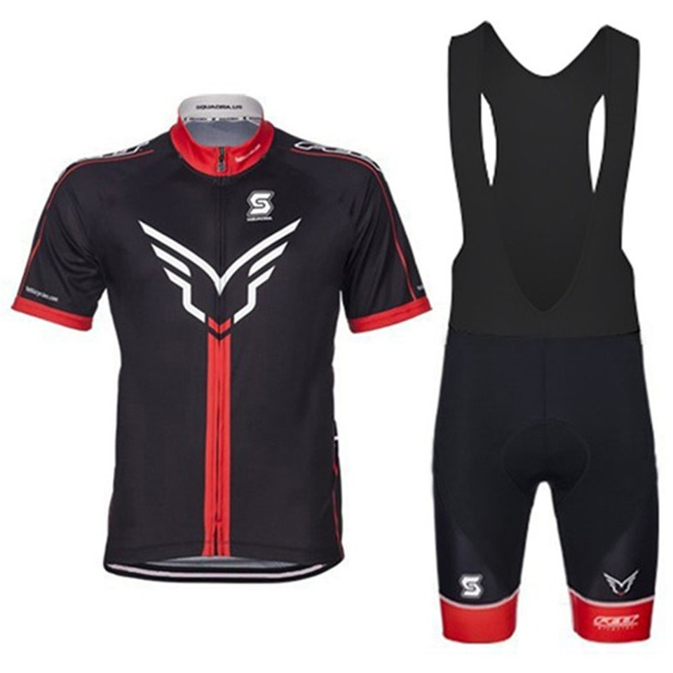 Conjunto de manga corta para ciclismo, nuevo Maillot profesional de poliéster para hombre, transpirable, ropa para ciclismo de verano 2020