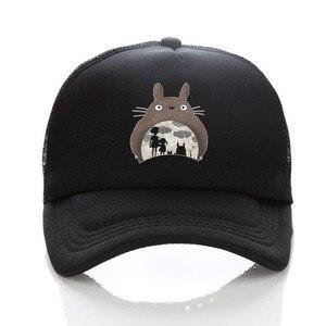 anime Studio Ghibli My Neighbor Totoro adult's baseball Snapback adjusted mesh cap Hip Hop hat For Men Women