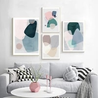 abstract geometric graphic poster scandinavia canvas painting minimalist wall art print nordic pictures for living room decor