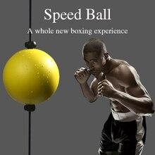 Balle de boxe réaction réflexe vitesse poinçon balle ventouse Fitness pousser balle boxe combat Stress sport divertissement exercice