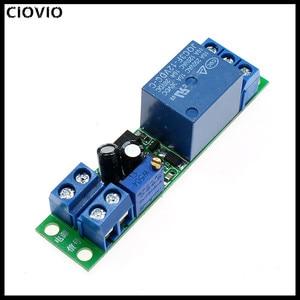 CIOVIO 5PCS 12V delay relay module Auto start delay switch with optocoupler signal trigger time adjustable
