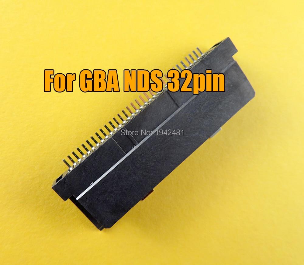 2 шт. для nintendo DS NDS игровая карта-картридж слот для чтения 2 запасная часть для GBA NDS Слот 32pin картридж слот для чтения карт