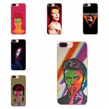 David Bowie Soft TPU Wholesale For Xiaomi Redmi 3 3S 4 4A 4X 5 6 6A 7 K20 Note 2 3 4 5 5A 6 7 Plus Pro