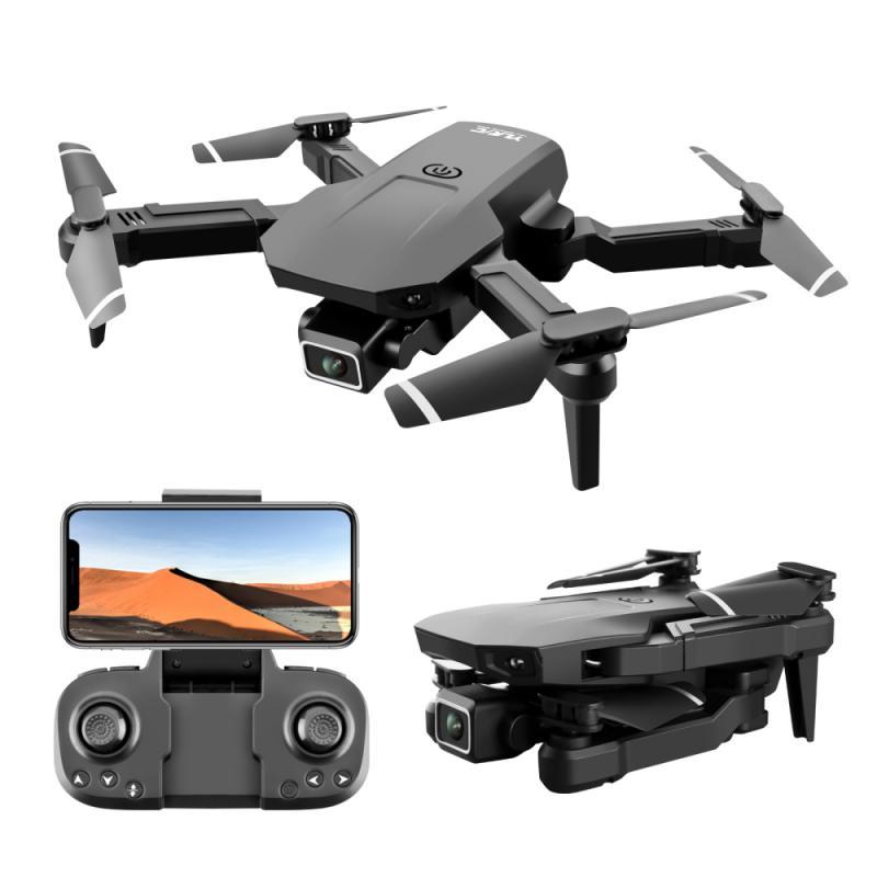 E5 S68 طائرة صغيرة جديدة بدون طيار 4K المهنية HD كاميرا واي فاي Fpv ضغط الهواء ارتفاع عقد أسود طوي كوادكوبتر RC درون لعبة
