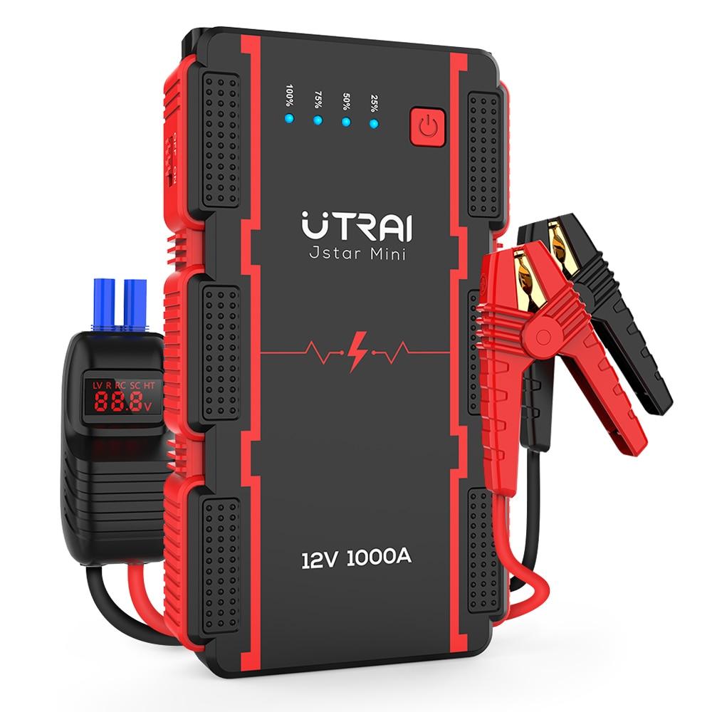 UTRAI سيارة الانتقال كاتب شاحن الطوارئ المحمولة بطارية ليثيوم أيون بنك الطاقة 22000mAh للماء سيارة معززة جهاز البدء