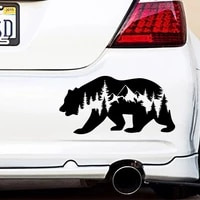 cartoon wild animals car sticker car styling funny auto stickers and decals car accessories