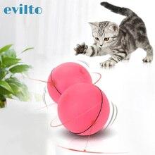 Jouets boule Flash roulante à Led pour chats   Jouet boule magique Laser interactif pour animaux de compagnie électrique, lumière de saut dobstacles, Juguetes Para Gatos