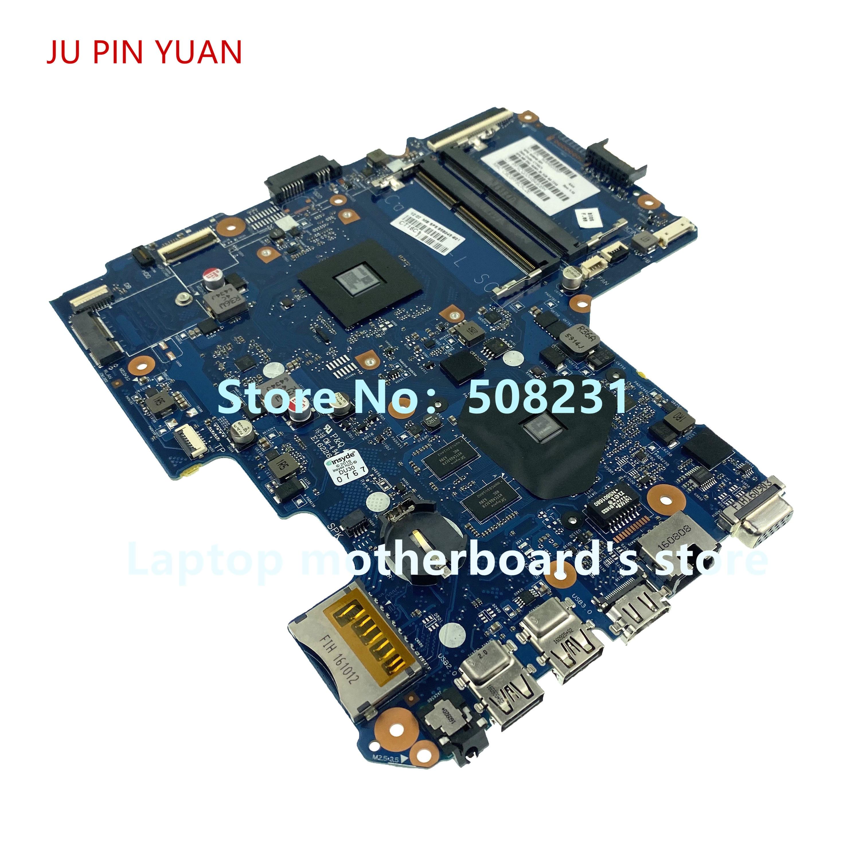 Ju pin yuan para HP 14-un ordenador portátil placa base 858045-601, 858045-501 placa base R5M1-30 2GB A6-7310 100% totalmente