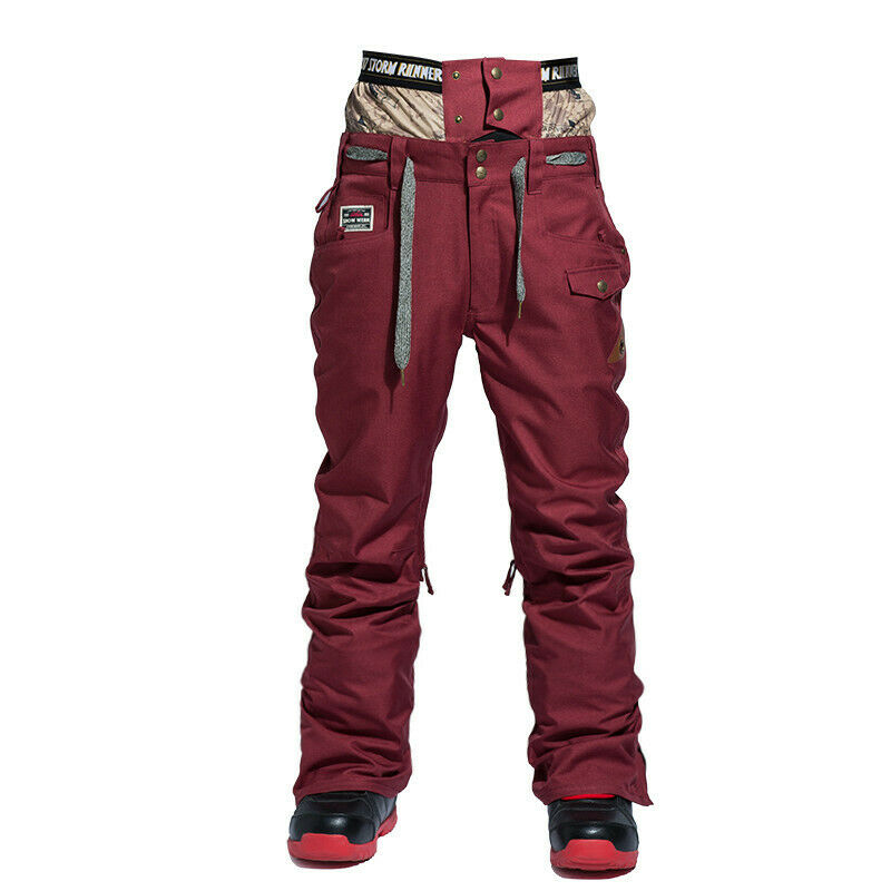 Mans Winter Waterproof Outdoor Coat Pants Ski Suit Jacket Snowboard Clothing