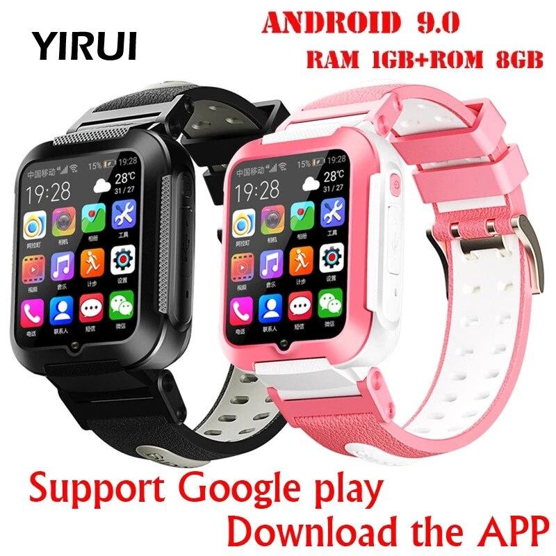Smart Watchs 4G Remote Camera GPS WI-FI Kid Child Student  Smartwatch Video Call Monitor Tracker Locate Phone Watch