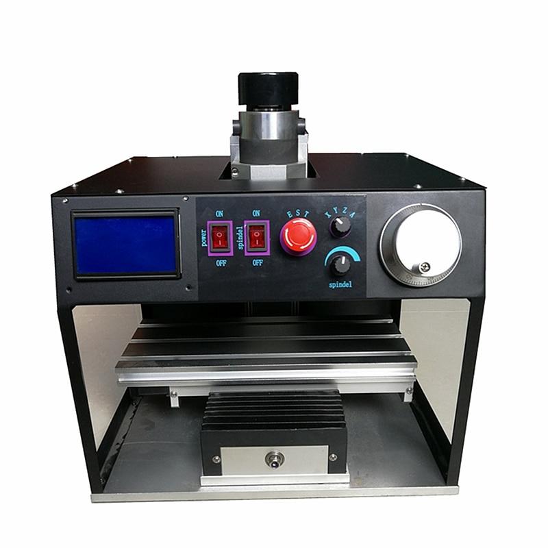 آلة طحن صغيرة باستخدام الحاسب الآلي باستخدام الحاسب الآلي جهاز التوجيه 1010A تستقيم 3 محور نوع العمود