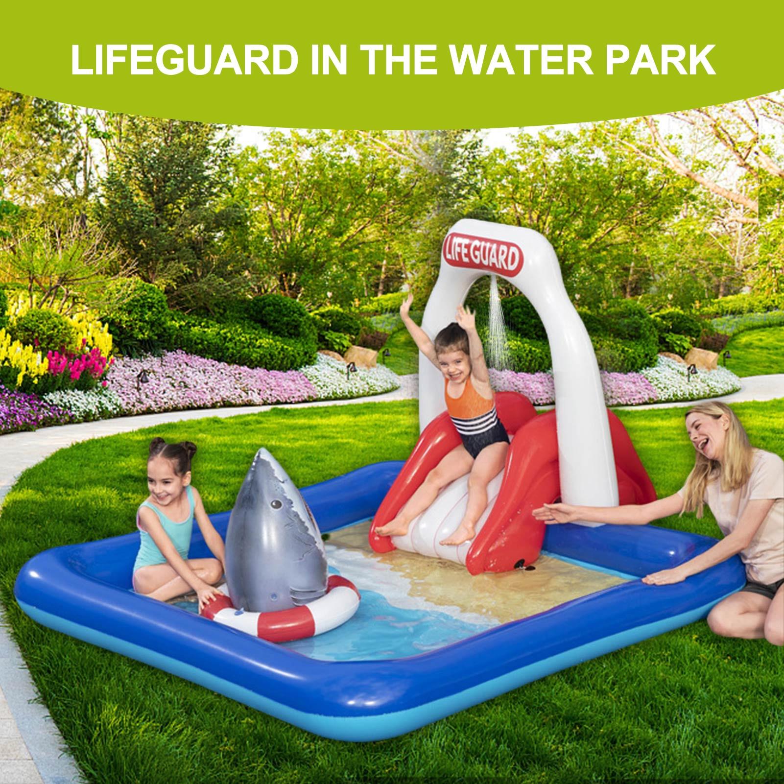 طفل الكبار الأطفال الأزرق حديقة اللعب في الهواء الطلق غطاء حمام سباحة psquine Gonflable الأسرة حوض سباحة قابل للنفخ فوق الأرض حمام سباحة