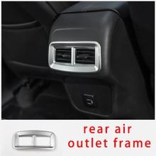 For Chevrolet equinox 2017-2020 rear air outlet frame chrome molding trim