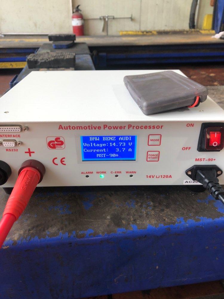 Novo modelo MST-90 + regulador de tensão da bateria (14v 120a) para estabilizador de potência de codificação b-m ecu, 220v