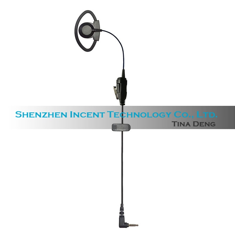 VOIONAIR 40pcs D Hook Over Ear Hook Earphone Earpiece Headset Speaker For Yaesu FT-2DR FT-3DR FT-70DR FT-60R enlarge