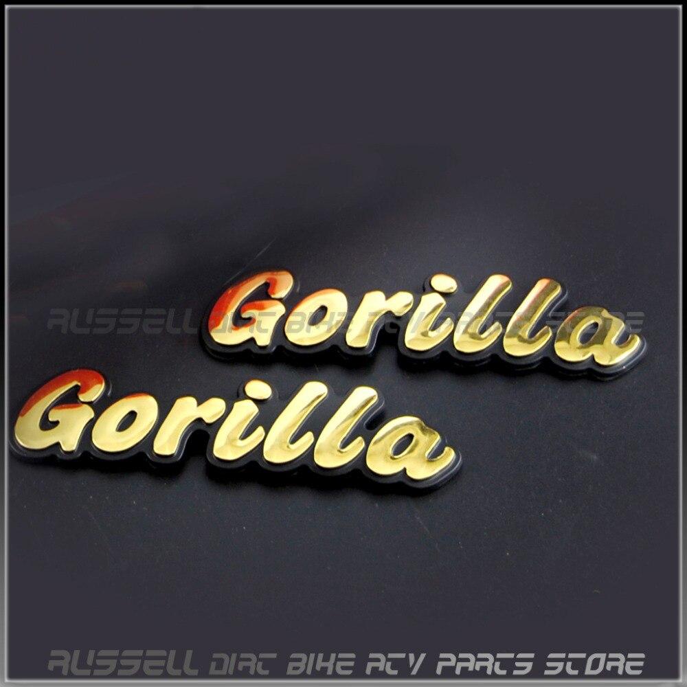 Garilla emblema do tanque de combustível da motocicleta adesivos para honda monkey z50 mini trail bike z50a z50j z50r garilla moto