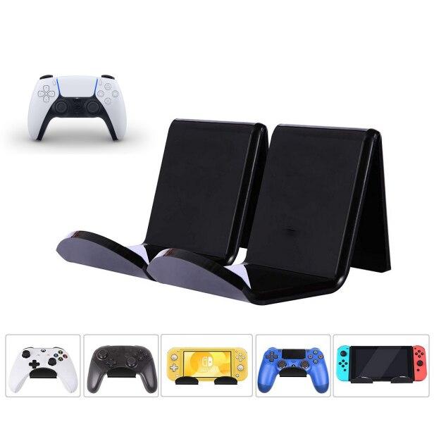 Soporte colgante para mando de videojuegos, estante de montaje en pared, soporte...