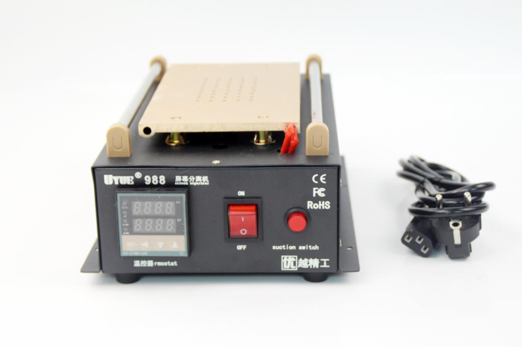 UYUE 988 600W Professional supply  vacuum pump lcd touch screen separator machine 110V/220V Free shipping enlarge
