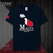 République de malte MLT MT équipe nationale la valette hommes t-shirt mode couverture en coton à manches courtes vêtements de sport été t-shirt 50