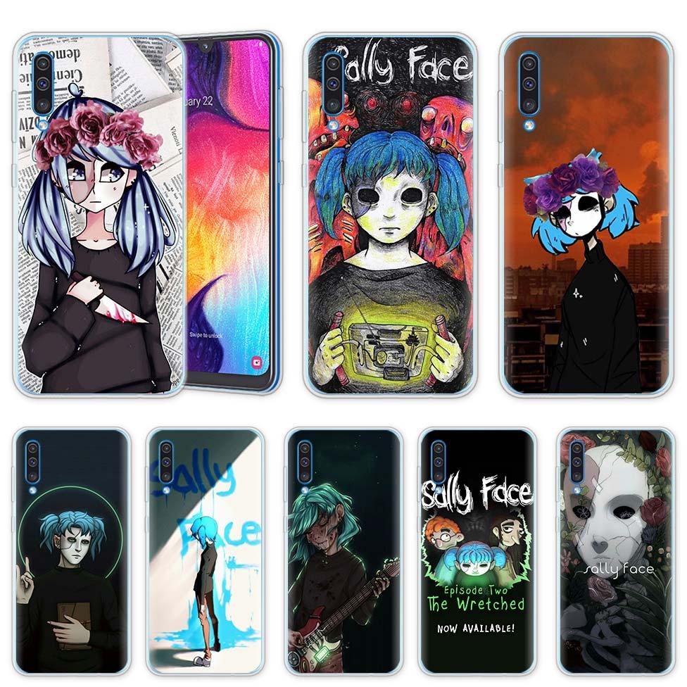 Sally cara del juego para Samsung Galaxy A50 A20 e A70 A80 A60 A40 A30 A10 s A9 A7 A8 a6 Plus 2018 funda de silicona para teléfono