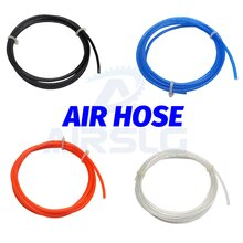 1M Luchtslang Air Compressor Slang Air Tube Pneumatische 4 6 8 10 Mm Od 2.5 4 5 6.5 8 Mm Ik Slang Air Pipe Slang Voor Compressor Air Tool
