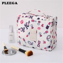 PLEEGA New Multifunction travel Cosmetic Bag Women Makeup Bags Toiletries Organizer Waterproof Femal