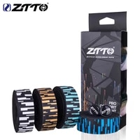 2 pcs ztto road bike silicone handlebar tape bicycle drop bar wrap non slip shock absorber eva bike handlebar tape cycling parts