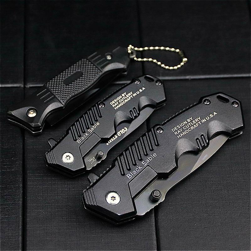 Multifunctional outdoor tactical knife folding claw pocket EDC knife Jungle knife fruit knife manufa