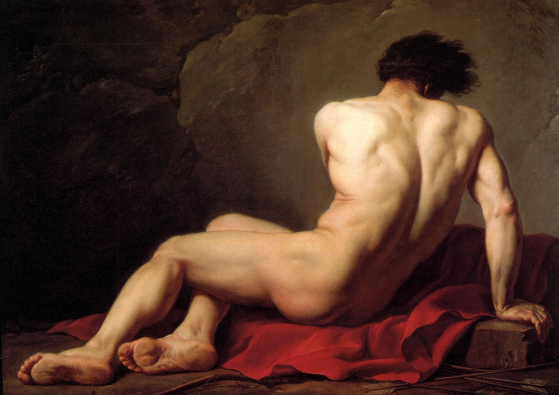 Топ крутой обнаженной художественной живописи -- телесный мужской масляной живописи Мужское искусство гей печать художественная живопись на холсте