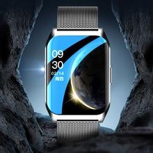 Nuova chiamata Bluetooth Smart Watch uomo impermeabile musica Sport E-17 Smartwatch donna multi-dial commutazione frequenza cardiaca Fitness Tracker