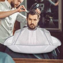 1PC Waterproof Hair Cutting Cape Cloak Foldable Haircut scarf Salon Haircut Tool Perm Hair Cutting T