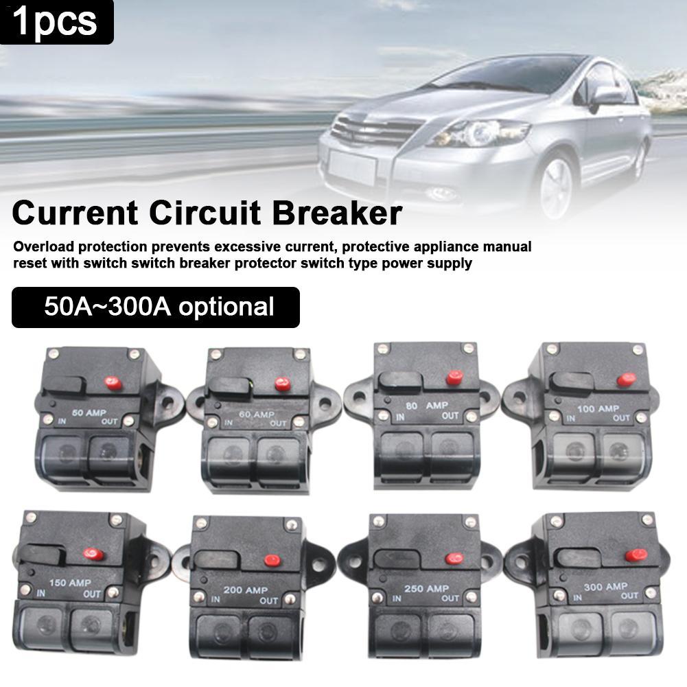 Disyuntor interruptor automático de alambre fusible en línea de alta corriente disyuntor para coche
