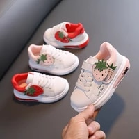 autumn childrens casual sports shoes strawberry baby girls running shoes childrens shoes