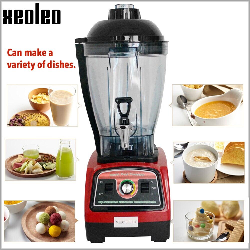 Máquina de leche de soja XEOLEO, máquina de leche de soja 6L, licuadora comercial, exprimidor multifunción, 3,3 HP, licuadora de comida de alta resistencia