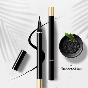 Self Adhesive 3 In 1 Multifunctional Waterproof Eyeliner Sticky Suction Magnetic Non Pencil Natural Black X6K0