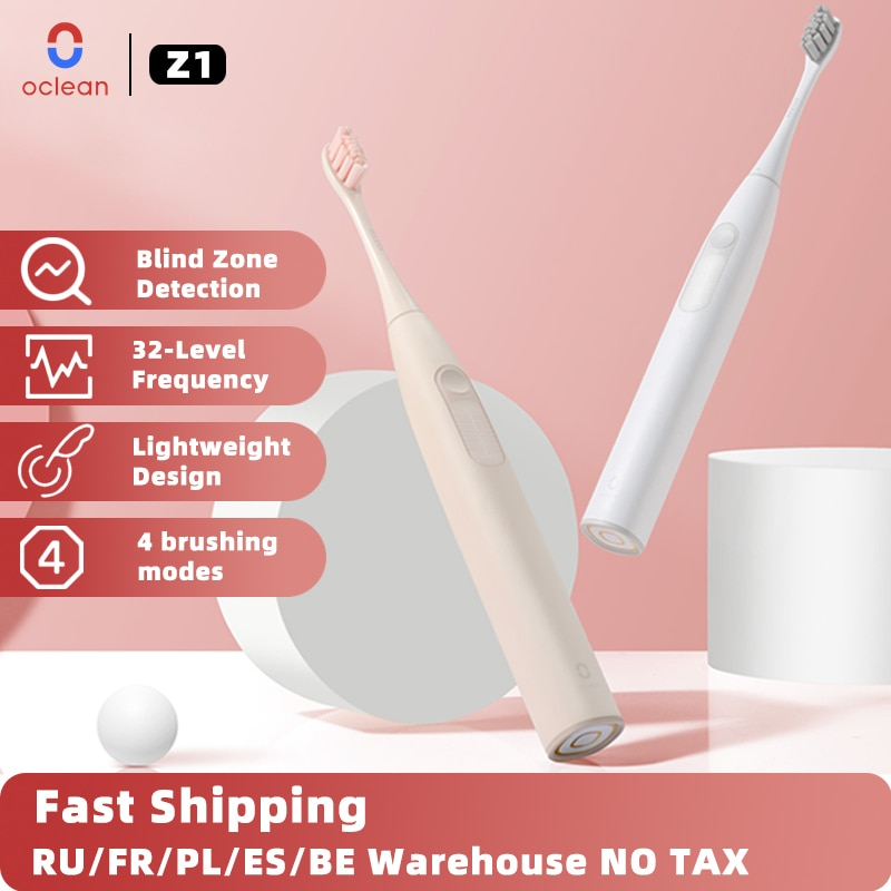 Oclean Z1 smart sonic automatic electric toothbrush cleaning, suitable for adults brand new USB fast charging IPX7 waterproof enlarge