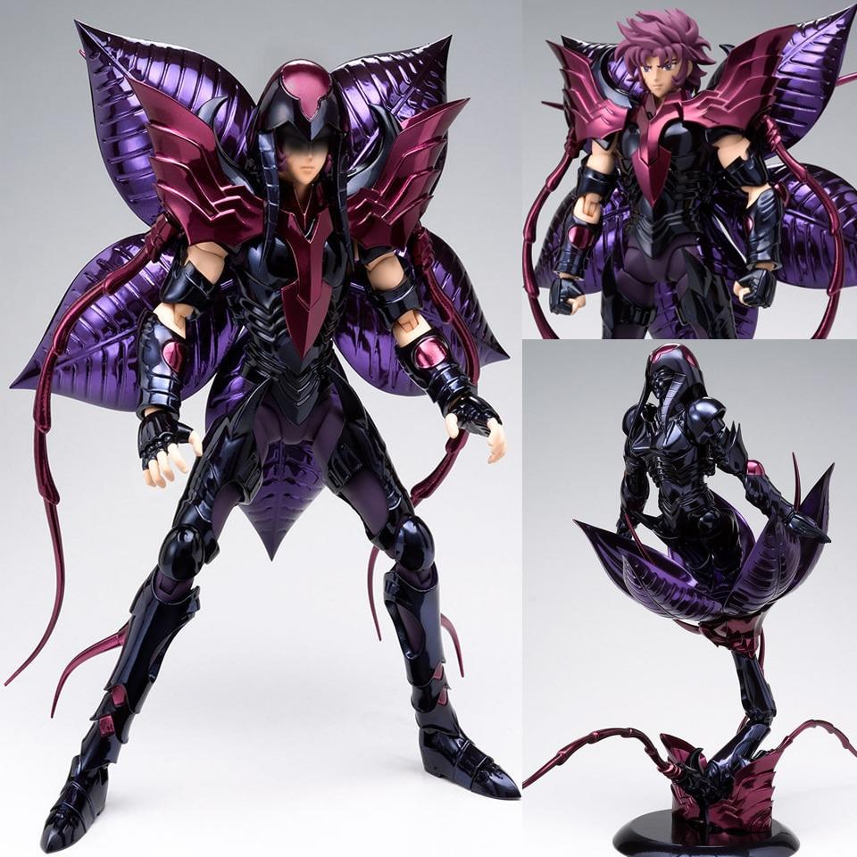Tronzo Original Bandai Saint Seiya Alraune Queen Hades Specter Saint Cloth Kuin PVC Action Figure Metal Armor Model Toys