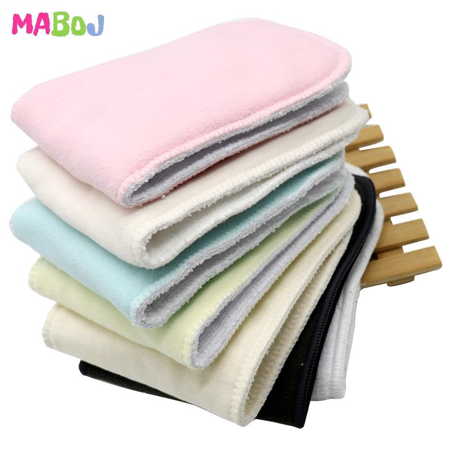 MABOJ тканевые вставки для подгузников 4 шт. Многоразовые моющиеся карманные