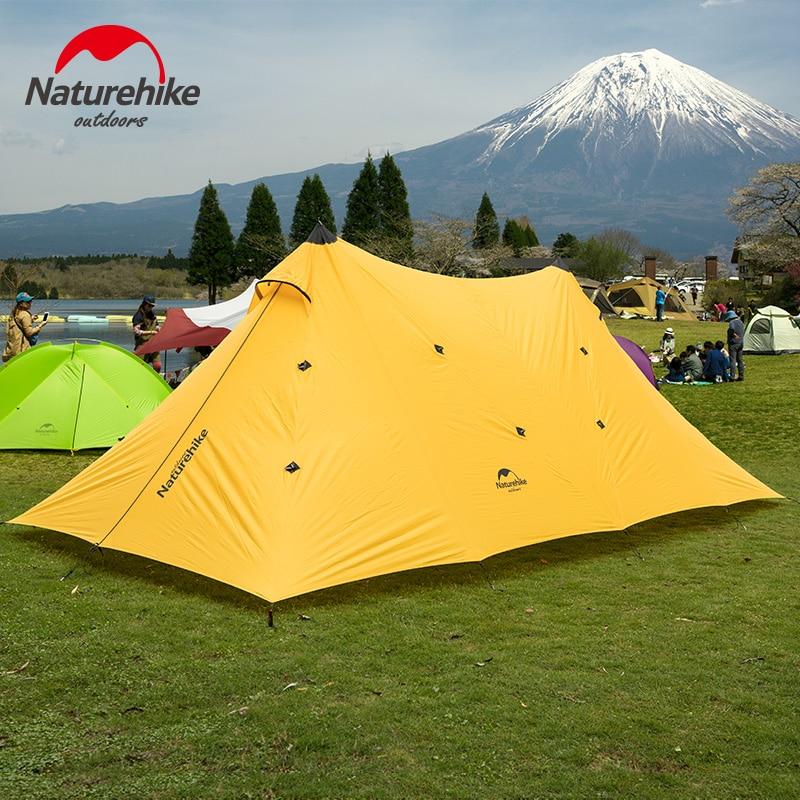 Naturehike Twin Peaks EINE turm plane Große Zelt familie camping zelt ultraleicht outdoor Baldachin