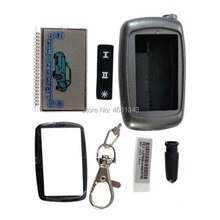 10 PCS/lot A6 LCD display Screen + Keychain Case for 10PCS Russia Car Alarm System Starline A6 lcd r