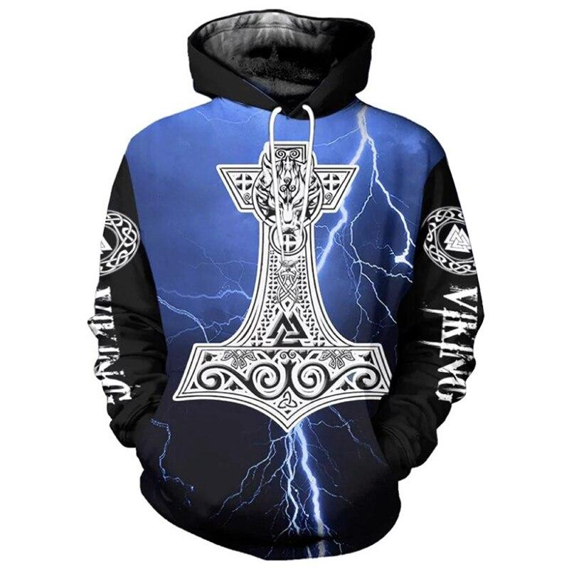 Viking legend Ragnars raven мужская толстовка с капюшоном с рукавом реглан 2020v Осень/Зима Повседневная мужская Толстовка пуловер хип-хоп Уличная одежда