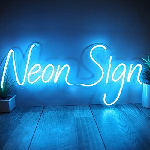 Custom Neon Sign for Room Decor Birthday Party Handmade LED Neon Lights with Dimmer, Power Adapter