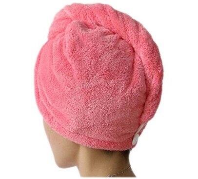 Banho feminino super absorvente de secagem rápida microfibra toalha de banho de cabelo tampão seco salão de beleza toalha