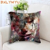 nordic cushion fashion sex figure picture print seat cushion throw pillow decorative cushion for sofa home decor
