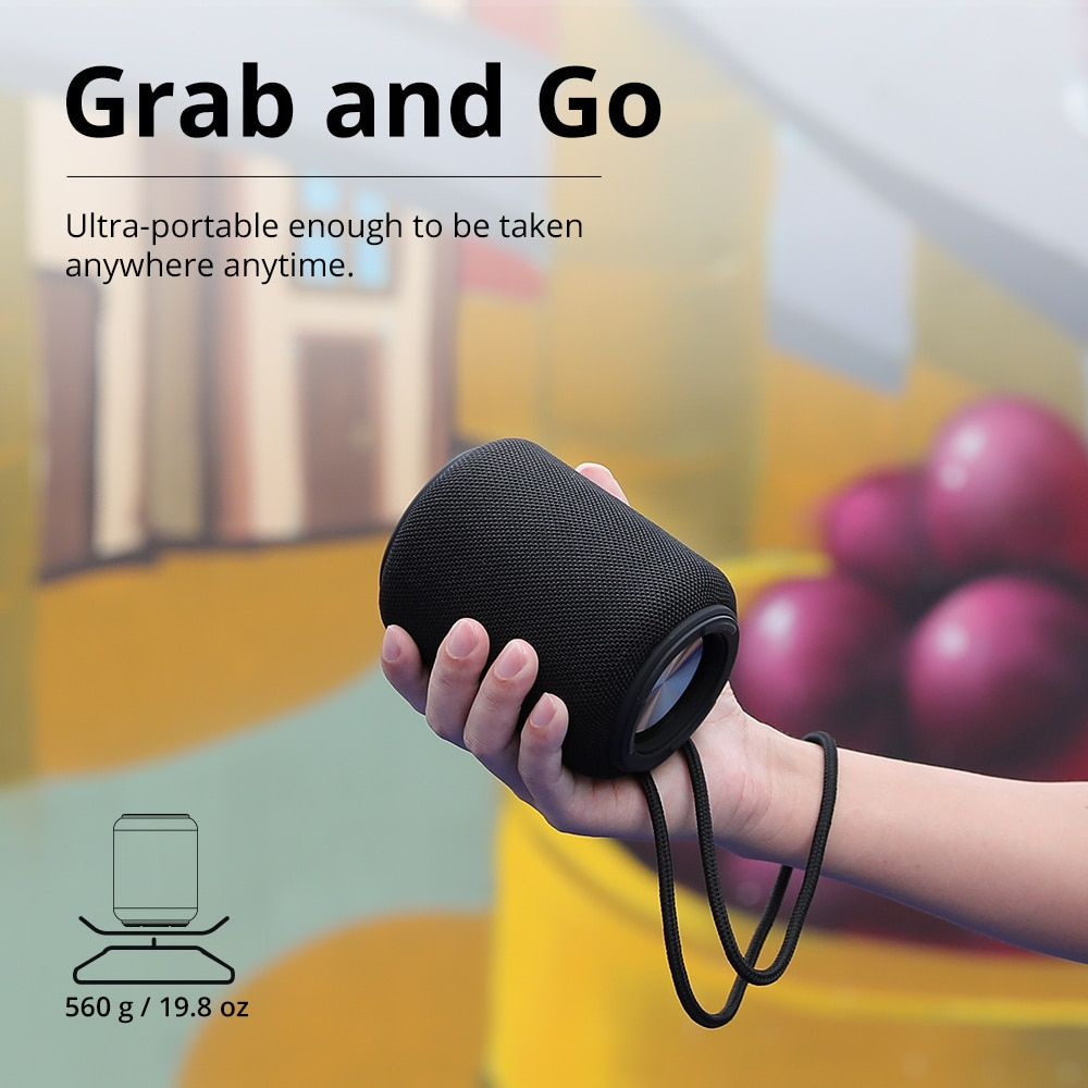 Tronsmart T6 Mini Bluetooth Speaker Wireless Portable Speaker TWS Speakers with IPX6, Voice Assistant, 24 Hours Play time enlarge